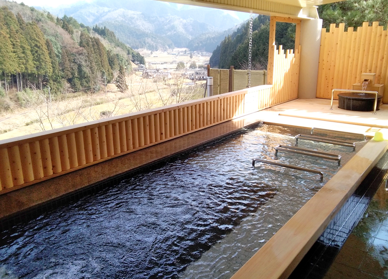 Ayabe Onsen, hot springs in the forest 1