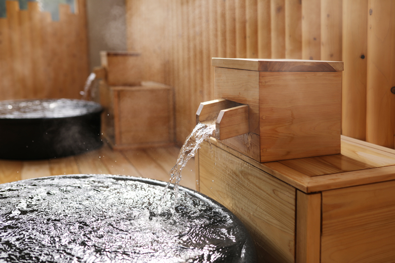 Ayabe Onsen, hot springs in the forest 2