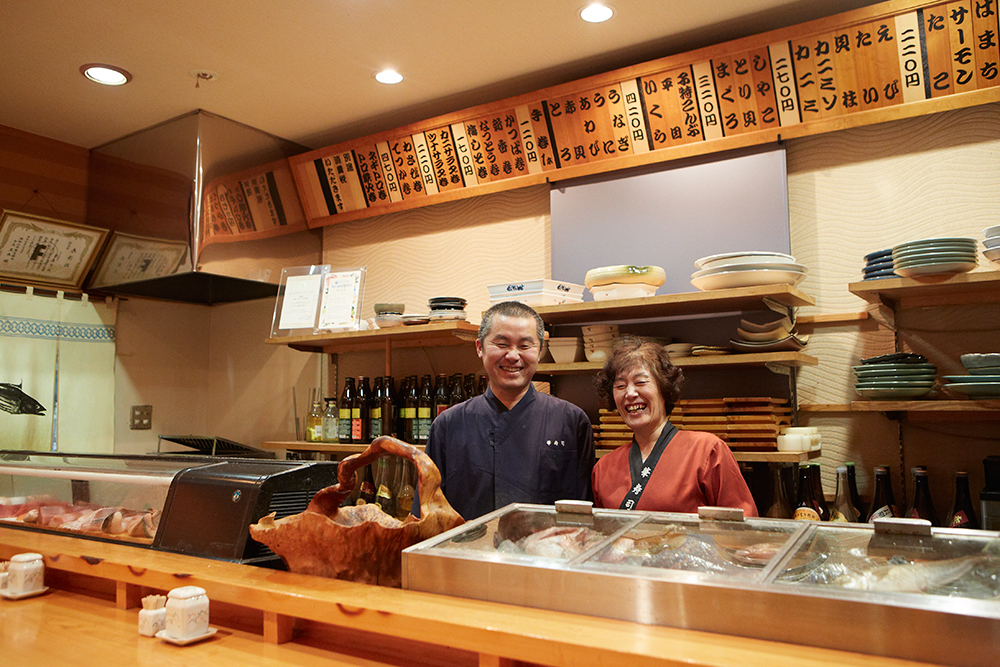 Hanazushi,Edo-style nigiri-sushi  (Fukuchiyama)  2