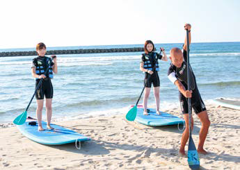 Stand Up Paddleboarding at Yuhigaura (with onsen and dinner) 2