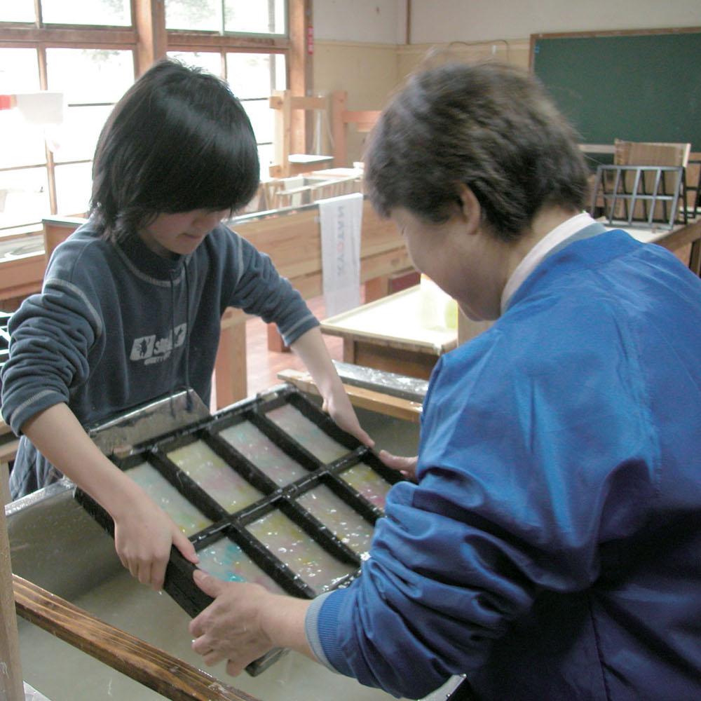 Kurotani Washi Japanese paper making 2