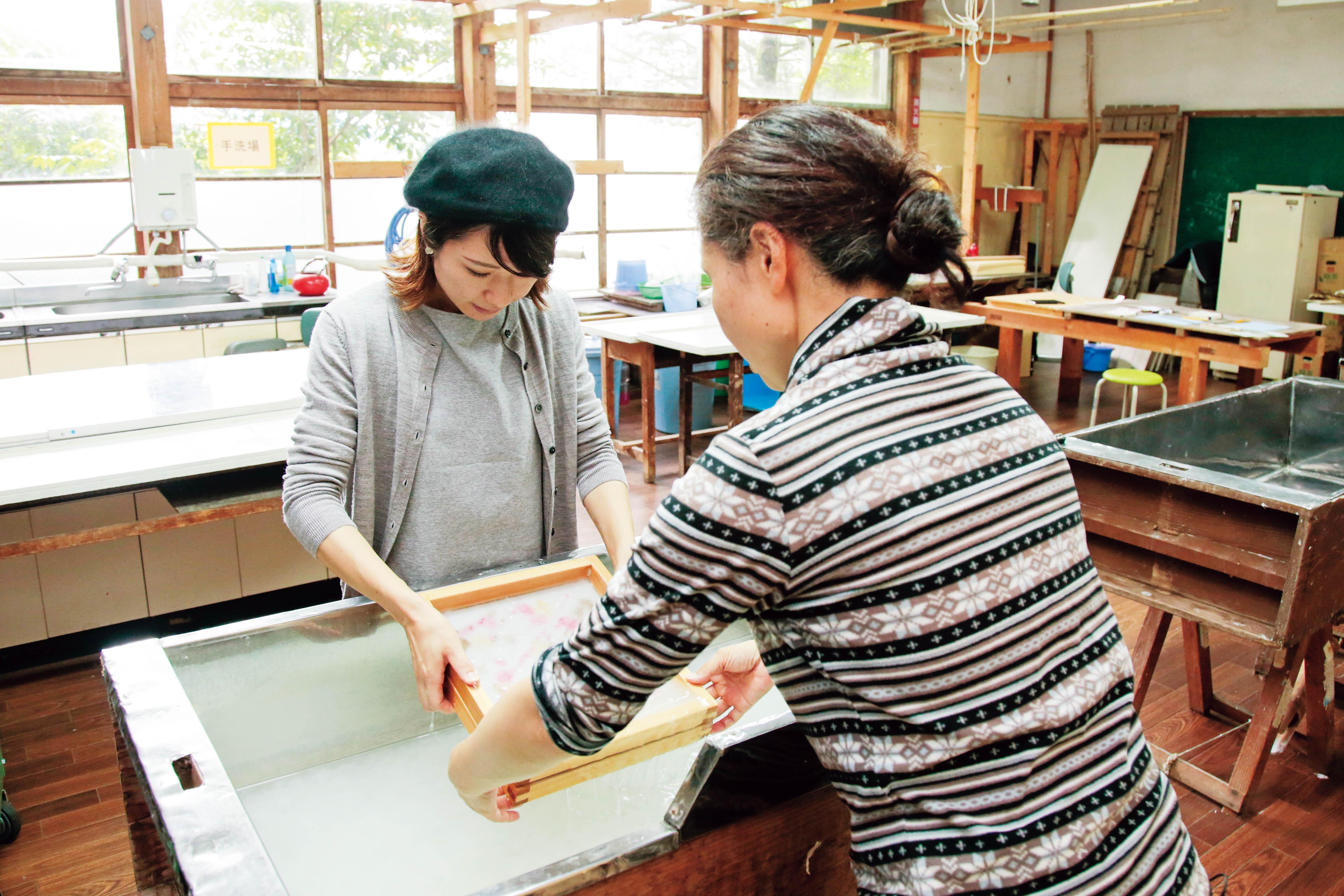 Kurotani Washi Japanese paper making 4