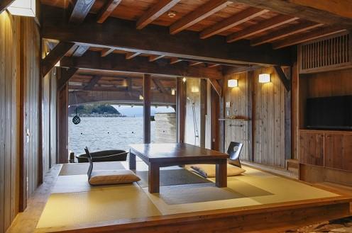Funaya Fuga, boat house stay 1
