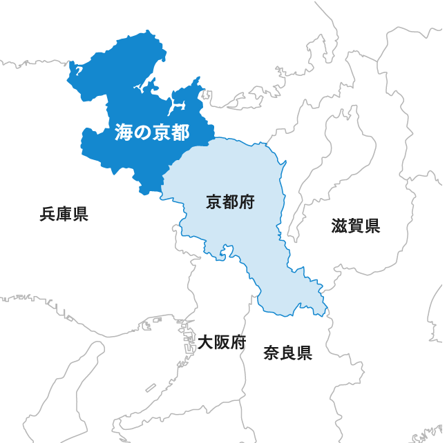 Position of Kyoto by the Sea