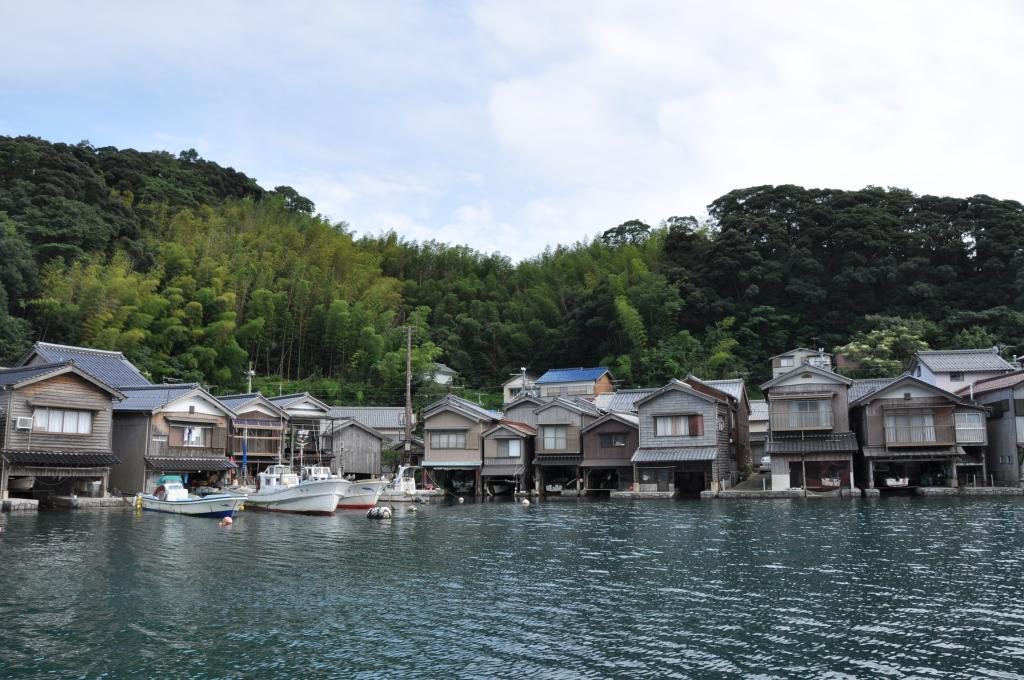 [standard] The three most beautiful views in Japan Amanohashidate and Funaya house taxi rent-a-car plan of Ine