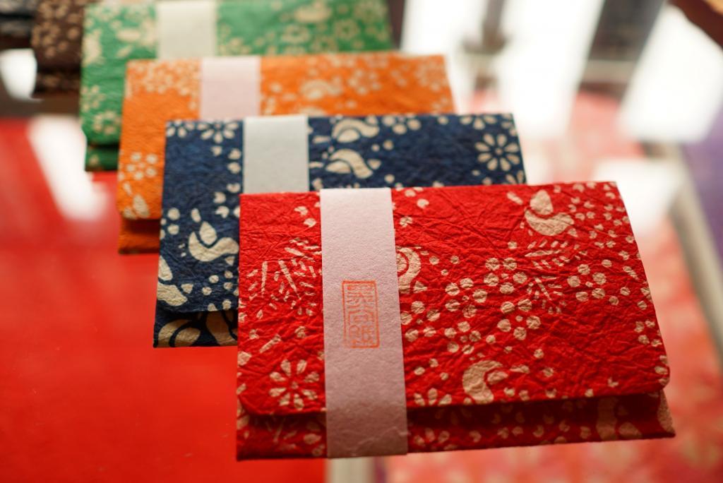 Printing exhibition of Kuroya Japanese paper