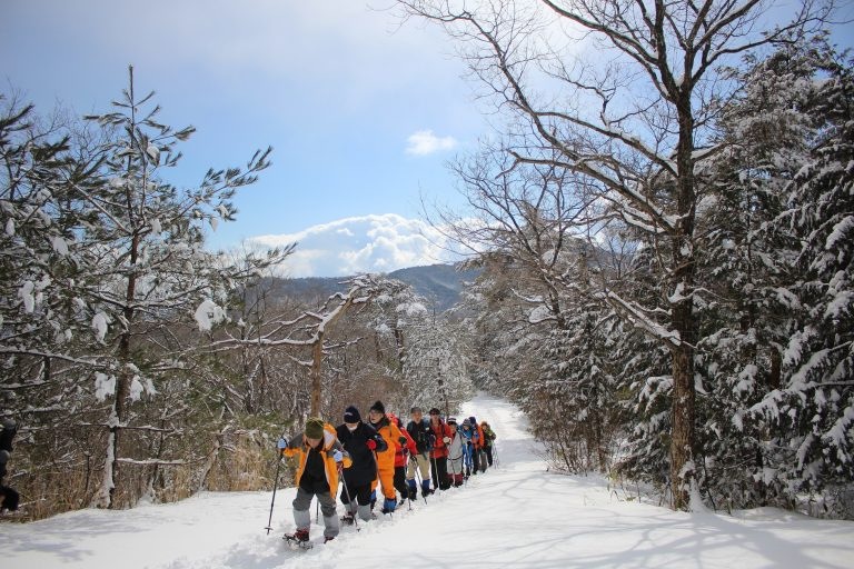 Snow shoe tour大江山