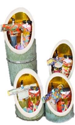 Wait for the Doll's Festival and Chirimen Kaido in quest of mansion of weaver, business magnate; about trip tour participation of walk