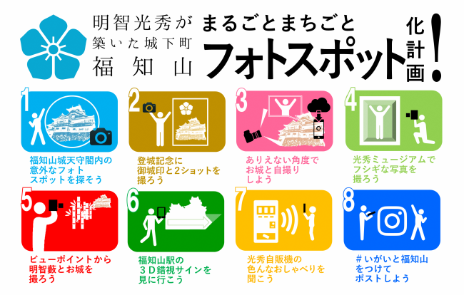 """Every castle town Fukuchiyama whole town that Mitsuhide Akechi got spots photo plan"" start!"