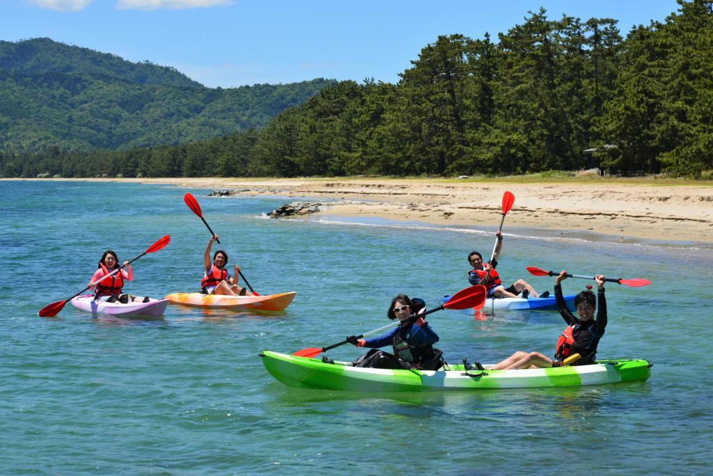 Amanohashidate sea kayaking experience