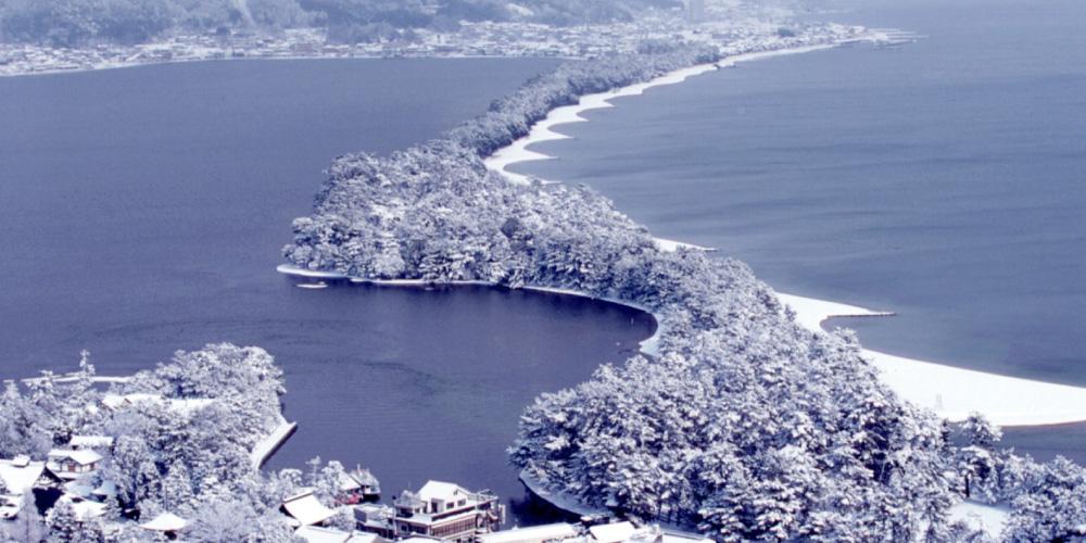 Winter Miyazu to see Miyazu City