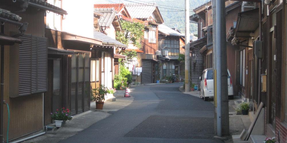 Walking in Ine Town