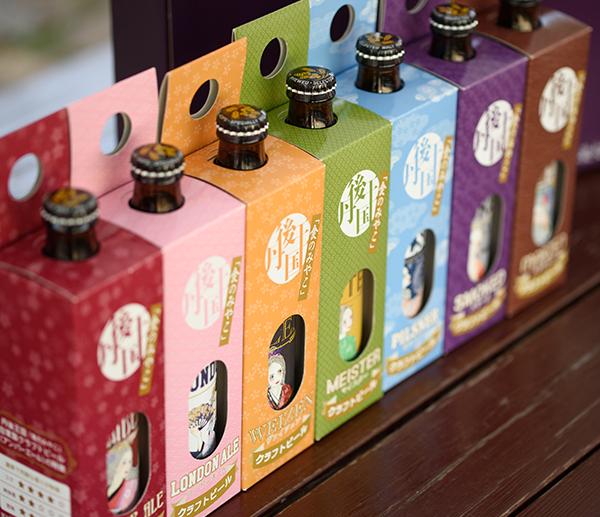 Sake, craft beer