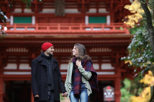 National treasure, Komyo-ji Temple and Niomon gate