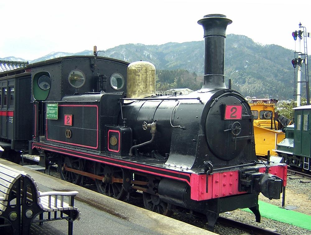 旧加悦鉄道2号機関車(123号機関車)