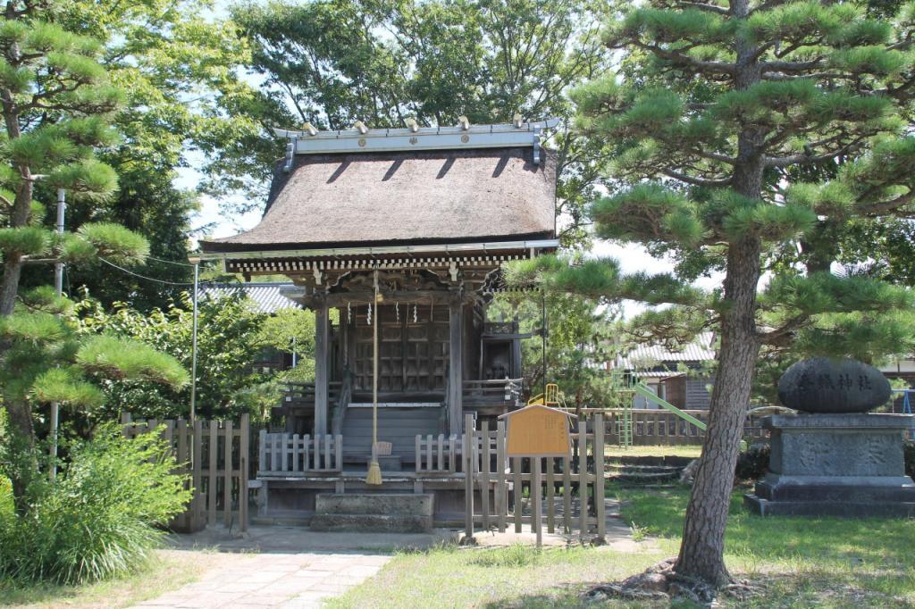 網野神社、蠶織神社