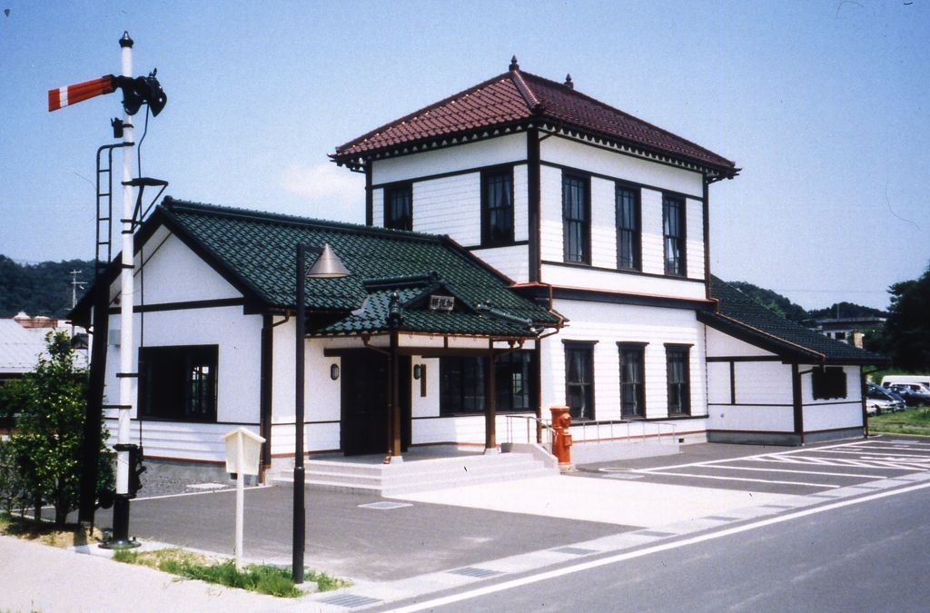 旧加悦鉄道加悦駅舎(加悦鉄道資料館)